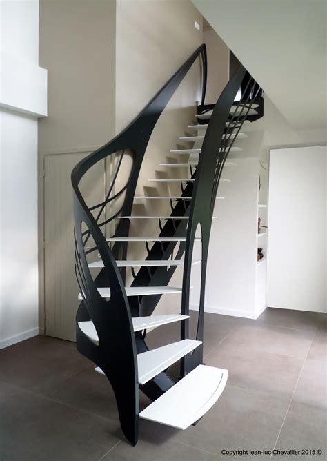 escalier d interieur design escalier acier la stylique