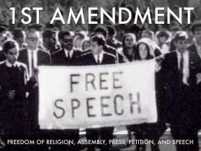 Bill of Rights Amendment 1