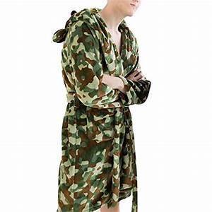 Herren Bademantel Kurz : tangda herren bademantel kurz flanell morgenmantel mit kapuze langarm camouflage saunamentel ~ Orissabook.com Haus und Dekorationen
