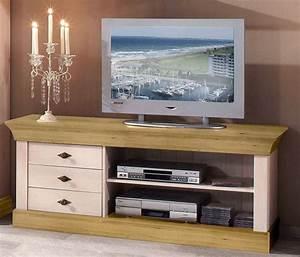 Tv Möbel Lowboard Weiß : massivholz tv lowboard tv m bel tv kommode bergen kiefer massiv wei gelaugt ~ Indierocktalk.com Haus und Dekorationen