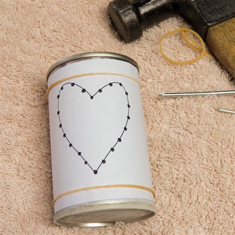 Candle Holder With Holes by How To Make Recycled Tin Can Candle Holders