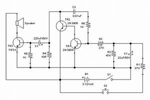 Classic Alarm Circuit Employs Class-c Aamplifier For More Power