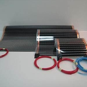 Sol Chauffant Électrique : plancher chauffant electrique ecofilm set 85w m ~ Melissatoandfro.com Idées de Décoration