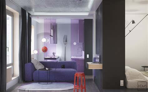 Appartment Decor by Small Apartments That Go Big With Bold Decor Themes