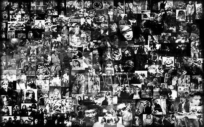 Collage Wallpapers Grunge Band Backgrounds Bsnscb Px