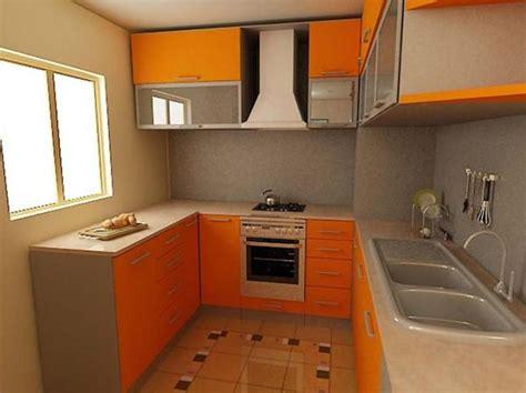 Einrichtung Kleiner Kuechemoderne Kleine Kueche In Orange by Kleine K 252 Che Einrichten Neue Beispiele