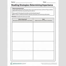 Reading For Comprehension Following Directions  Worksheet Educationcom