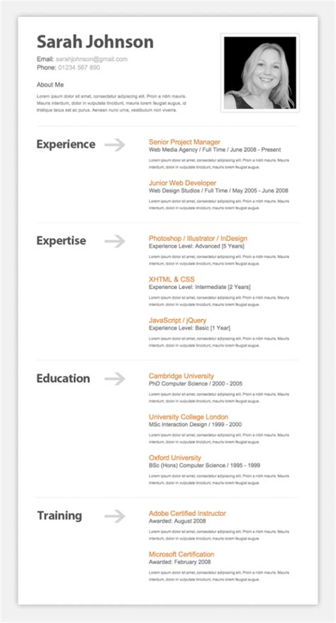 Resume Tutorial by 9 Helpful Resume Design Tutorials To Learn Designbump