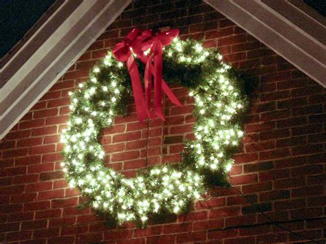 lighted outdoor wreath home wreaths galore