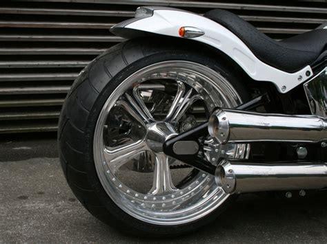 Five Spoke Custom Motorcycle Wheels