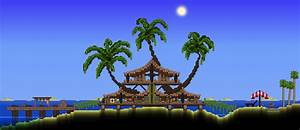 Palm Treehouse Terraria