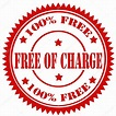 Free Of Charge-stamp — Stock Vector © carmen_dorin #47758467