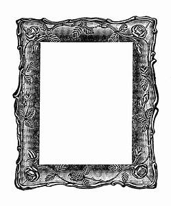 Antique Images: Vintage Graphic: Decorative Square Frame ...