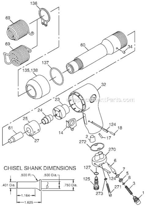 Chicago Pneumatic Air Hammer | CP714 | eReplacementParts.com
