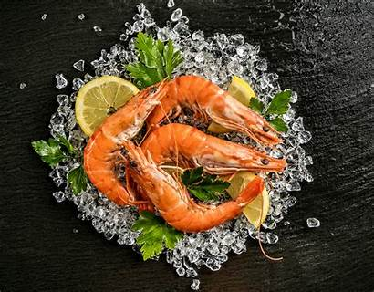 Shrimp Seafood 4k Wallpapers Background Wall