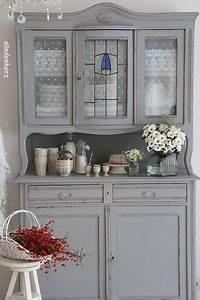 Küchenschränke Streichen Ideen : altes k chenbuffet in schiefergrau von bleu et ros auf wohnen pinterest ~ Eleganceandgraceweddings.com Haus und Dekorationen