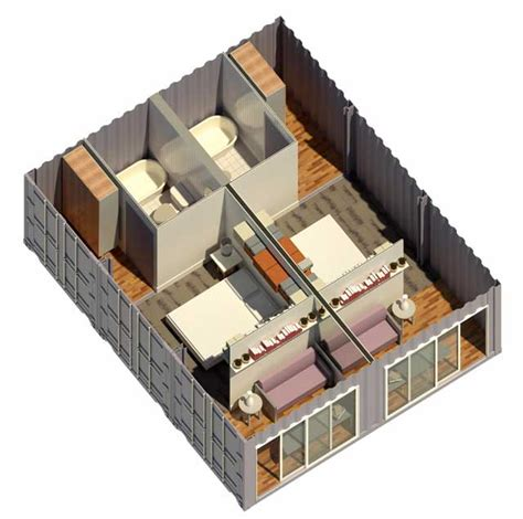 3 bedroom house floor plans shipping container one community open source