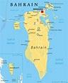 Map Bahrain