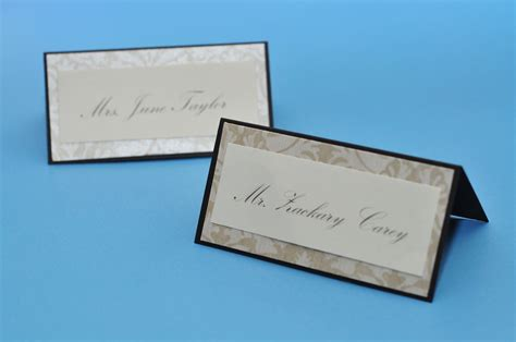 table number place cards special edition make it pretty diy place cards and table