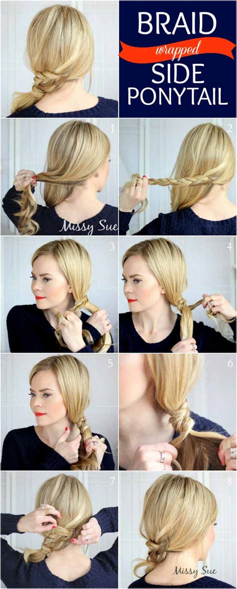 35 best 5 minute hairstyles the goddess