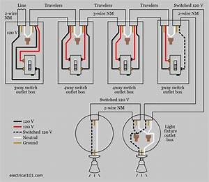 1 Gang 3 Way Light Switch Wiring Diagram : wiring diagram for 3 way switch with multiple lights ~ A.2002-acura-tl-radio.info Haus und Dekorationen