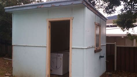 outdoor toilet laundry st choice asbestos removal