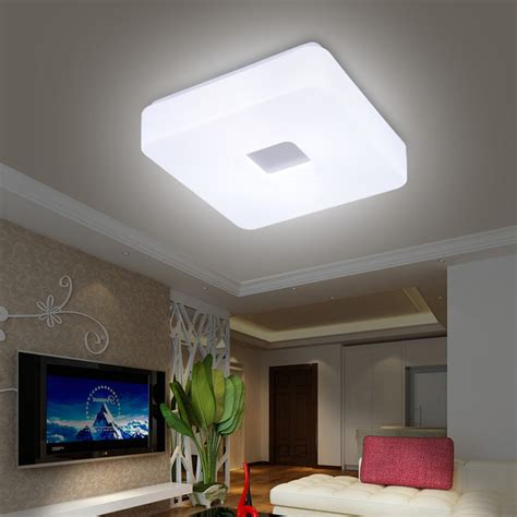 shipping modern led flush mount surface mounted