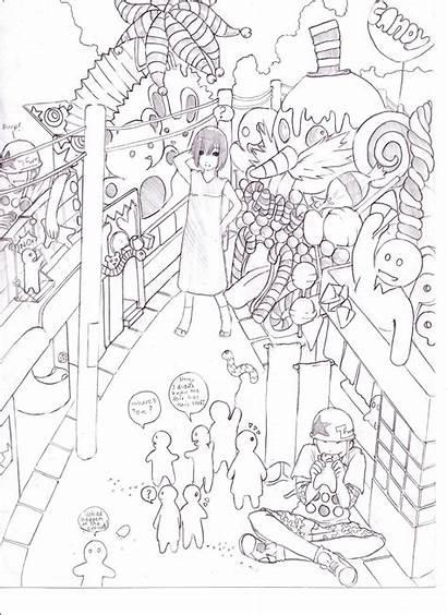 Candyland Hide Drawing Seek Drawings Getdrawings Deviantart