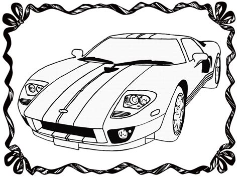 Race Car Coloring Book Pages Realistic Coloring Pages