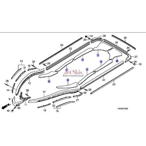 Honda Aquatrax F15, F15x Floor Mats