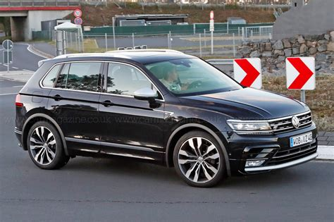 The best all rounder around? VW Tiguan R spotted   CAR