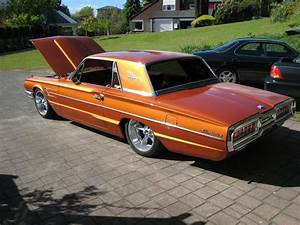1965 Ford Thunderbird   Orange And Cool