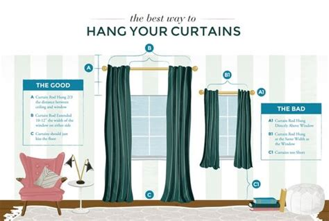 The Best Way To Hang Your Curtains Hadley Curtains Shutters And Images Sound Blocking Reviews Double Wide Sheer Curtain Panel Orange Patterned Eyelet How To Make Tab Top Easy Jcpenney Kitchen Lined Flat