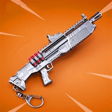 fortnite accessories fortnite battle royale heavy shotgun weapon keychain