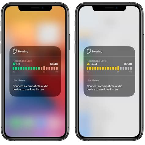 How To Display Real Time Headphone Audio Levels On iPhone ...