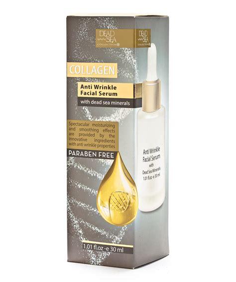 Collagen Anti-Wrinkle Facial Serum | Dead Sea Collection