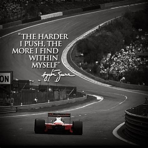 Ayrton #Senna | Ayrton senna quotes, Race car quotes, Car ...
