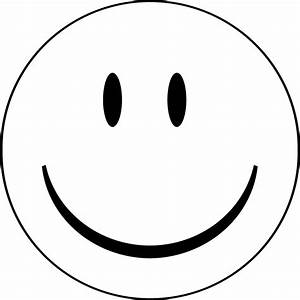 Blank Smiley-Face Coloring Pages   Emoji coloring pages ...