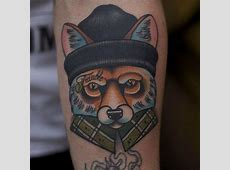 Tattoo Renard Graphique Tattoo Art