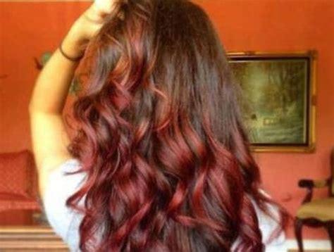 burgundy hair ideas  blonde red  brunette hair