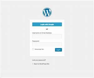 Google Apps Login  U2013 Wordpress Plugin