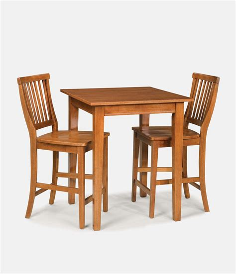 target cafe table and chairs home styles arts crafts cottage oak bistro table set