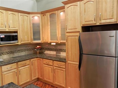 Permalink to Natural Maple Kitchen Cabinets Photos