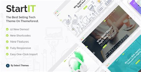 Startit 4.1.1 NULLED - A Fresh Startup Business Theme