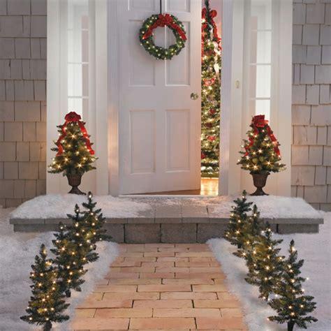weihnachtsdeko für draussen selber basteln weihnachtsdeko f 252 r au 223 en tolle ideen die sie inspirieren lassen