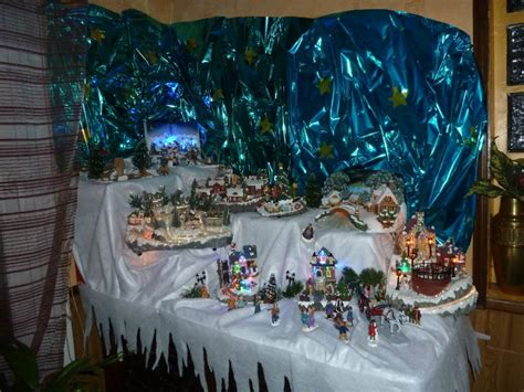 decoration de noel creche et