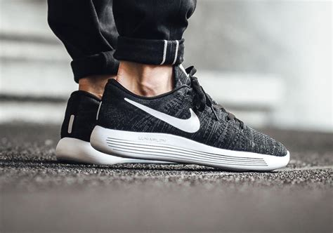 Nike Lunarepic Low Flyknit u2018Black/Whiteu2019 | get fit | Pinterest | Black Original air jordans and ...