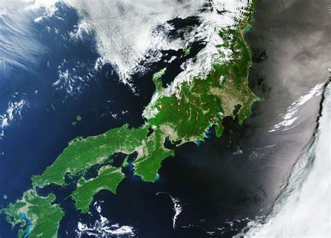 Earth From Space Japan Spaceref