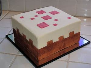 Minecraft Cake Block Cake - CakeCentral.com
