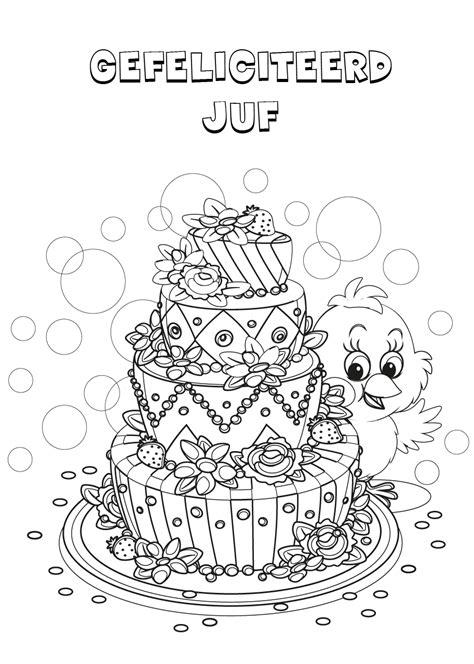 Kleurplaat Verjaardag Juffrouw by Kleurplaat Gefeliciteerd Juf Inspectionconference